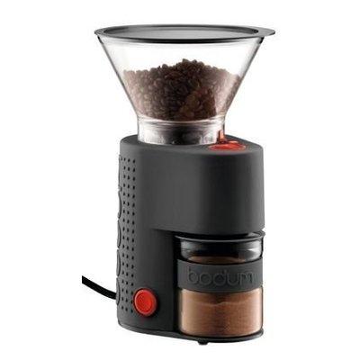 Bodum Bistro koffiemaler met bonenreservoir