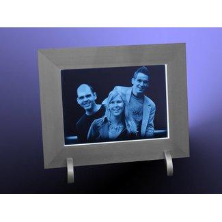 2D foto in glas - Foto lijst met ingebouwde LED verlichting
