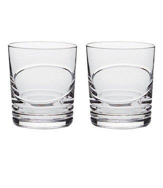 """Set van 2 Whisky glazen """"Saturn"""" met eigen gravering"""