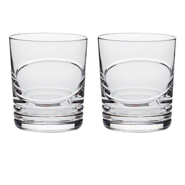 "Set van 2 Whisky glazen ""Saturn"""
