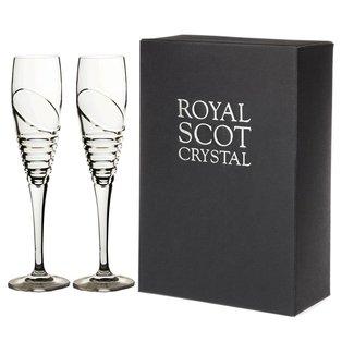 """Set van 2 Champagne glazen """"Saturn"""""""
