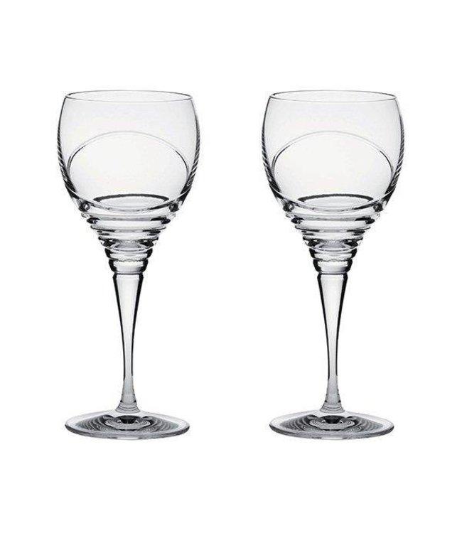 """Set van 2  kleine wijnglazen """"Saturn"""""""