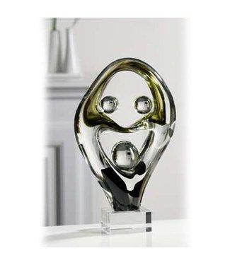 Glassculptuur 'Family'