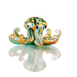 "Glassculptuur - ""Octopus"""