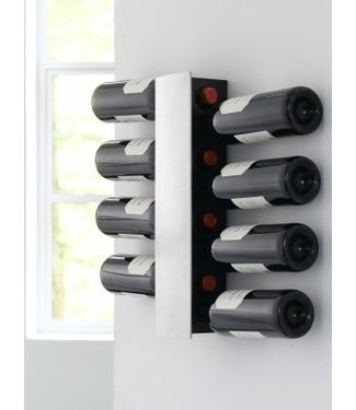 Wijn houder wand 8 flessen