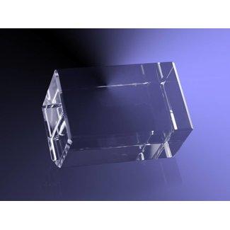 2D foto in glas - Rechthoek schuin