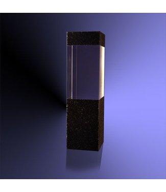 """Award """"Pilaar Zwart"""" met 3D gravure"""