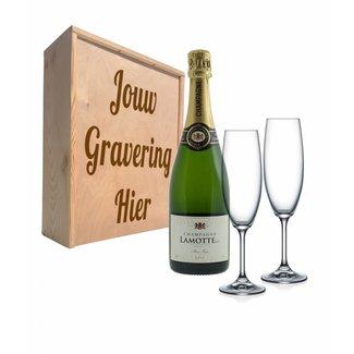 Champagnepakket met glazen - Lamotte Champagne