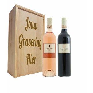 Wijnpakket 2 flessen: Tarani Gamay rosé / Malbec