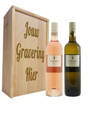 Wijnpakket 2 flessen: Tarani Gamay Rosé / Sauvignon Blanc.
