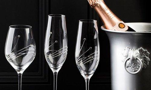 Drinkglas met tekst