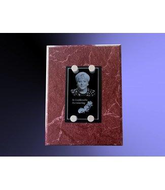 2D foto in glas - Glasplaat incl. 4 afstandhouders - 90x130x8 mm