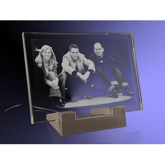 2D foto in glas - Vlakglas 130x90x8mm met verlichting