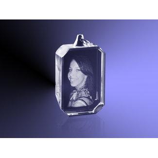 2D foto in glas - Hanger rechthoek