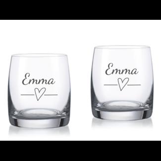 """Wijnglas graveren met tekst - 230 ml """"Ideal"""""""