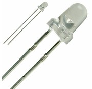 LED 3 mm helder wit
