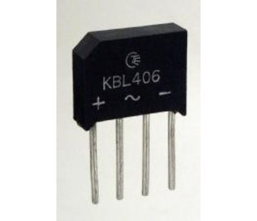 Bridge rectifier 600V 4A