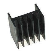 TO 220 Heat sink Black