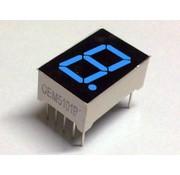 7-segment display Blue