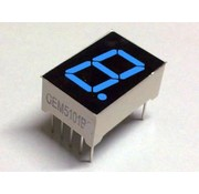 "7 Segment Display Blauw, 0.56"" CA."