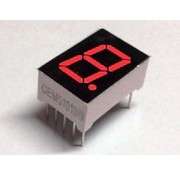 7-segment display Red