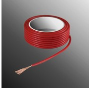 HELUKABEL Project Wire H05V-K 2.5 x 0.5mm², Stranded Core, Flame Retardant - Red