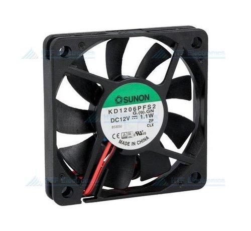 SUNON Brushless Fan 60x60x10mm 12V DC