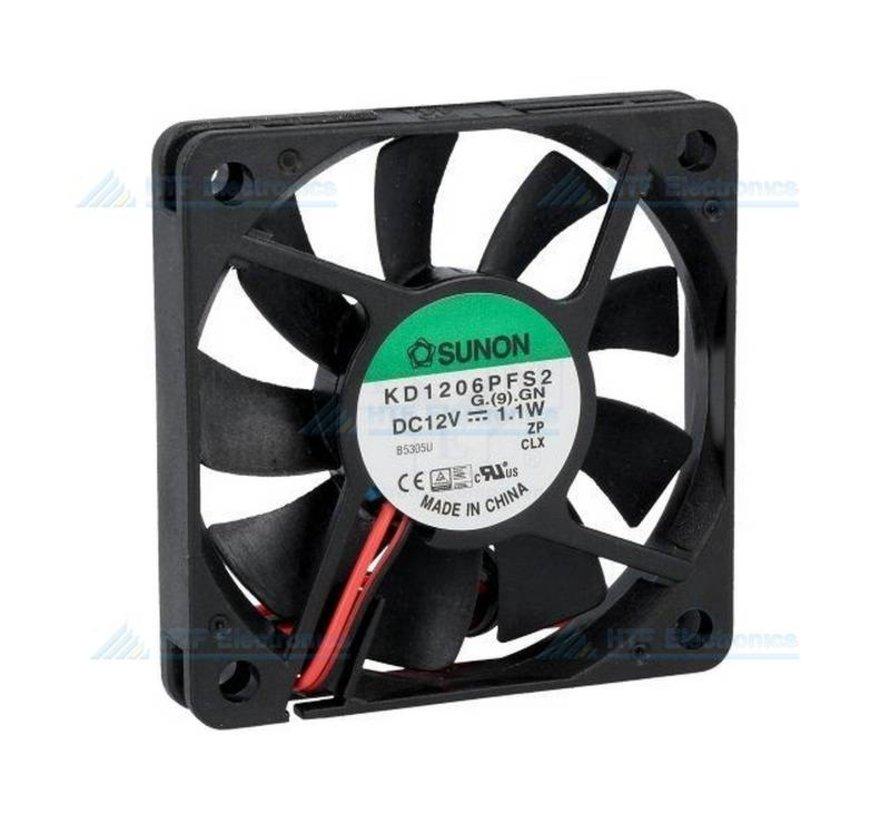 Brushless Fan 60x60x10mm 12V DC