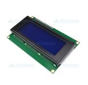 LCD Module Blauw Wit 20 x 4 Karakters met I2C Aansturing