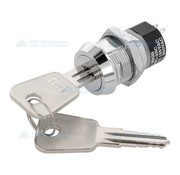 Highly Key switch 2 positions DPST OFF - ON