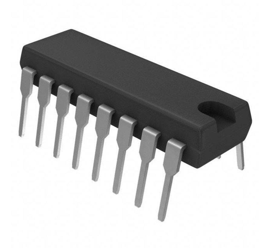 SN74HC595N 3-standen, 8bit, schuifregister, Texas Instuments
