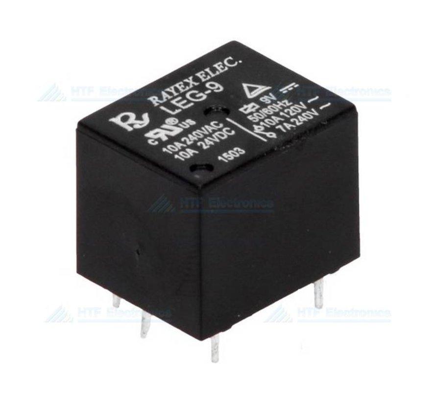 Print relais 9V 10A