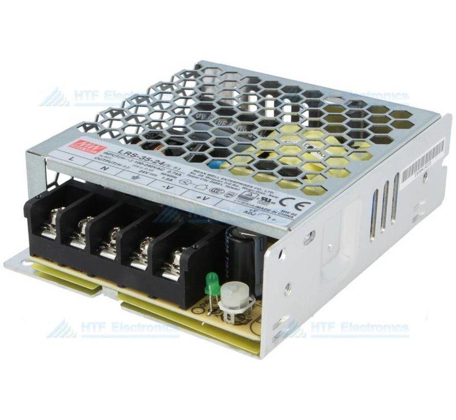 Modulair Schakelende Voeding 24V, 35W 1.5A