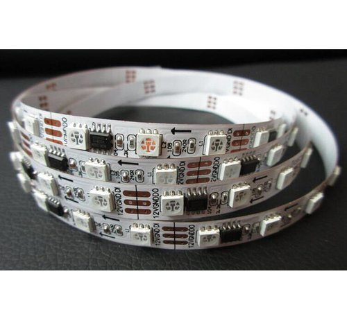 Worldsemi WS2811B LED Strip 60 LED's per Meter 12v