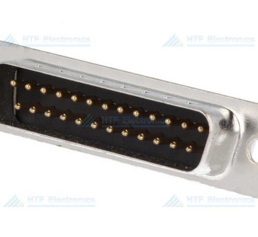 D-SUB Connector Male Chassis 25 Pin