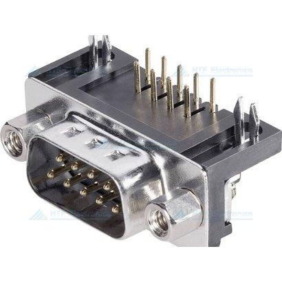 Connfly D-SUB Print Connector Male  9 Pin