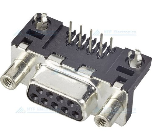 Connfly D-SUB Print Connector Female 9 Pin