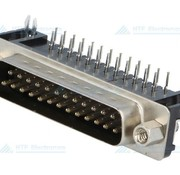 Connfly D-SUB PCB Connector Female 25 Pin
