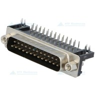 Connfly D-SUB Print Connector Female 25 Pin