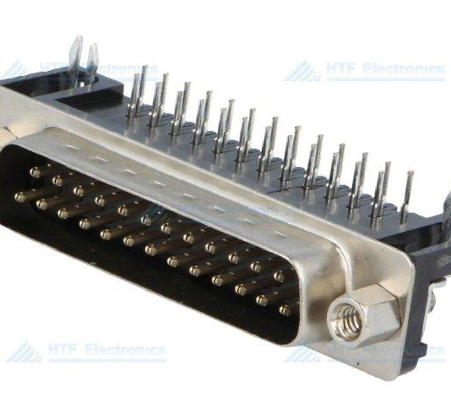 D-SUB PCB Connector Female 25 Pin