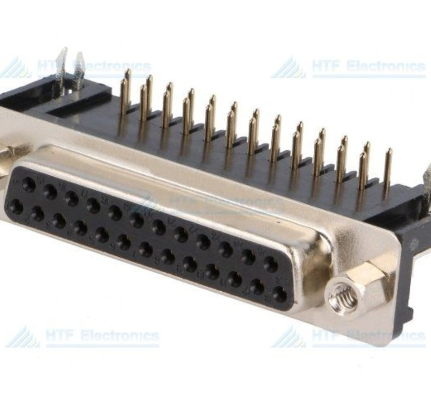 D-SUB Print Connector Male 25 Pin