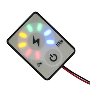 Batterij Status Monitor 12/24 Volt DC for Lead acid or Lithium Batteries