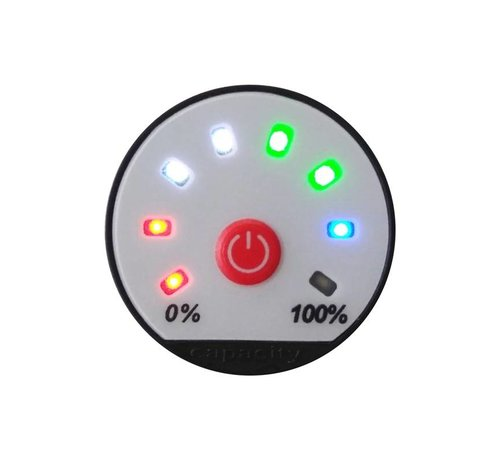 Battery Status Monitor 8 to 80 Volt DC Programmable