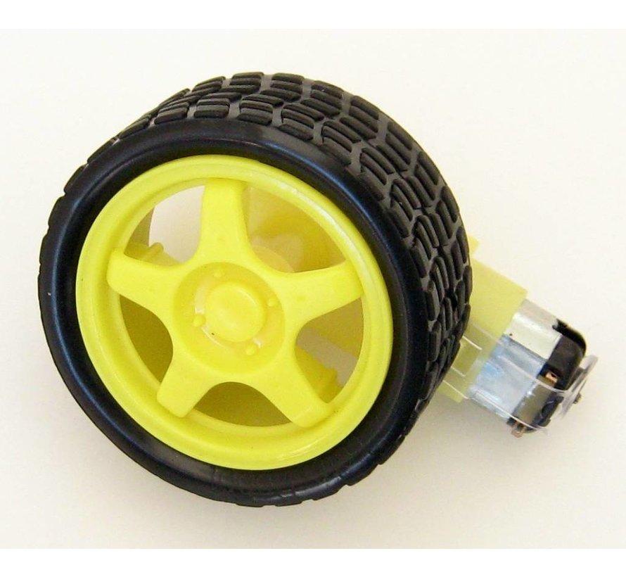 Reserve Wheel for DC Motor