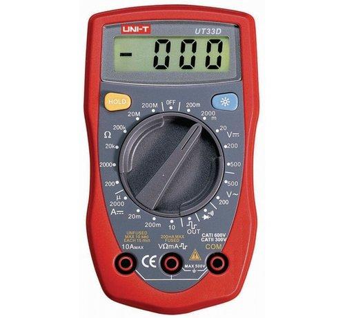Unit-T Unit-T Multimeter UT33D