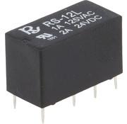 Rayex Relais 12V DC DPDT 1A Miniatuur, Rayex