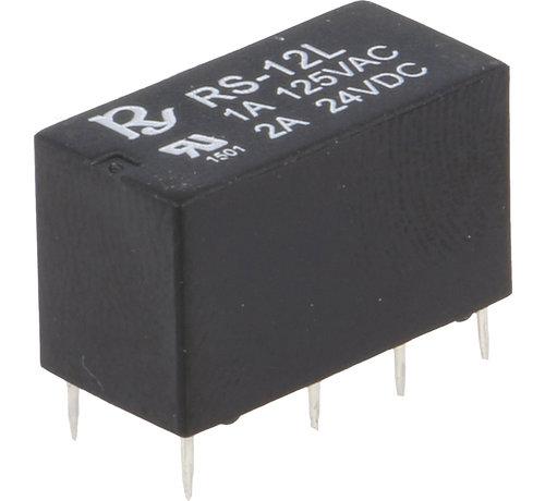 Rayex Relay 12V DC DPDT 1A Miniature, Rayex