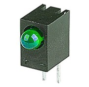 Led Green 3mm With Holder