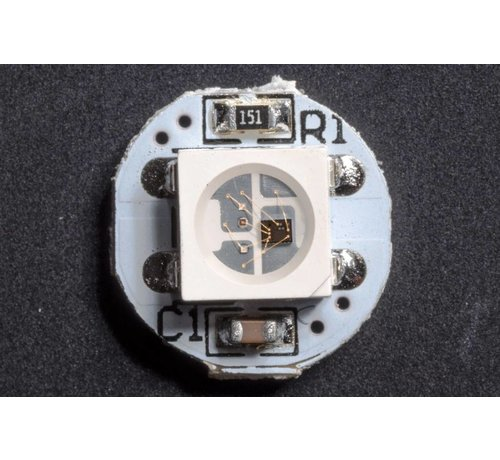 RGB SMD Led with wit integrated WS2812B Chip Type 5050