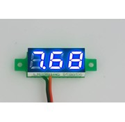 """Mini Voltmeter Blauw 0.28"""""""